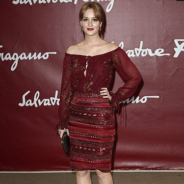 <p>Oh how we love Leighton Meester at Cosmo HQ. Here she is attending the star-studded front row at the Salvatore Ferragamo cruise collection show, wearing Salvatore Ferragamo - natch! But what would her alter ego, Gossip Girl character Blair Waldorf think about her outfit? We reckon she'd love it!</p>