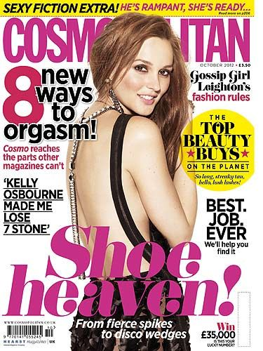 "<p>Leighton Meester chats to Cosmo about her fashion secrets, men and sadly, the end of Gossip Girl, sobs! Find out why she think she's weird and which part of her body she wants to change in the full interview on page 53</p> <p><a title=""http://www.cosmopolitan.co.uk/fashion/leighton-meesters-style-cv-104606?click=main_sr"" href=""http://www.cosmopolitan.co.uk/fashion/leighton-meesters-style-cv-104606?click=main_sr"" target=""_blank"">SEE LEIGHTON MEESTERS STYLE CV</a></p>"