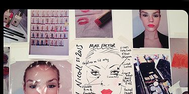 """<p>Right gals, we are feeling all sporty after hanging out backstage at the Richard Nicoll show. The vibe? """"Urban Athletic"""", told us über-talented make-up artist Mel Arter who was working her magic on the girls to give them a 'just been for a run' kind of glow.</p> <p>Think clean, natural and slightly dewy skin, all courtesy of Max Factor All Day Flawless 3-in-1 Foundation paired with groomed brows and sexy lashes (two generous coats of False Lash in Black if you may know). Lips were creamy and natural for some and coral neon for others. """"Sexy coral, not Miami housewife"""", added Mel.</p> <p>Hair was a sleek pony with a soft top section """"as if you had just put your fingers through your hair whilst running"""". We spotted stylist Shon using L'Oréal Paris Studio Silk and Gloss Mousse to give oompth the hair and some Elnett Hairspray to fix it. Nude nails courtesy of Essie in Ballet Slippers finished the look.</p>"""