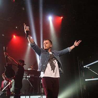 <p>We've totes got a crush on Plan B after he brought down the Roundhouse with his soulful iTunes performance.</p>