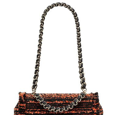 """<p>Who doesn't love a Mulbs? We certainly wouldn't mind adding this exotic tweed beauty to our wardrobes. A little on the pricey side, but trust us girls, it's an investment!</p><p>Lily with Chain Handle, £795, <a href=""""http://www.mulberry.com/#/storefront/c5697"""">Mulberry</a></p>"""