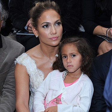 <p>It's time to celebrate the number one Paris Fashion Week show, Chanel, The singing sensation, and Queen of Venus razors, Jennifer Lopez and her daughter Emme Maribel Muniz sat front row at the Chanel show matching in white and pink lace. If only we could get that much fashion exposure at such a young age. What a lucky girl!</p>