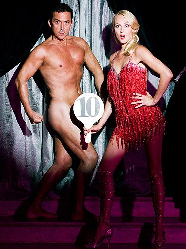 <p>Back in 2008 Strictly Come Dancing judge Bruno Tonioli stripped off as a Cosmopolitan centrefold star. And holy smoke, who knew he had such a hot bod underneath those designer suits? We certainly didn't! What he lacks in heigh, he makes up for in muscle definition.</p>