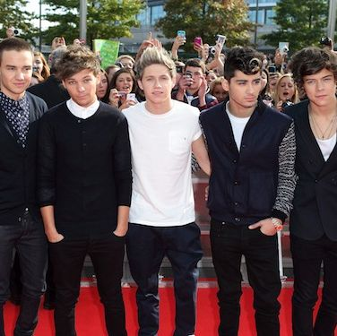 <p>Oh, <em>heyyyy</em> One Direction. Liam, Louis, Niall, Zayn and Harry all look very smart at the 2012 BBC Radio 1 Teen Awards - their mums will be extremely proud. Especially because they won the award for Best British Single. Way to go boys!</p>