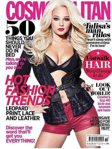 "<p>The gorgeous X Factor judge took the time out of her busy schedule to talk boys, X Factor and about THAT video. Turn to page 61 for the full interview NOW!<br /> <br /><a title=""http://www.cosmopolitan.co.uk/fashion/celebrity-style-cv/tulisa-contostavlos-fashion-style-cv?page=1"" href=""http://www.cosmopolitan.co.uk/fashion/celebrity-style-cv/tulisa-contostavlos-fashion-style-cv?page=1"" target=""_blank"">CHECK OUT TULISA'S STYLE TRANSFORMATION </a></p>"