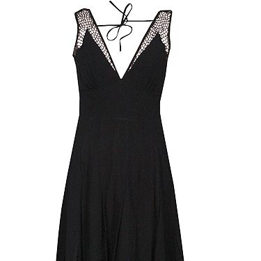 <p>Pimp up the trusty LBD for Halloween with this frightfully nice cobwebby dress from Fashion Conscience. You'll bound to look bewitching in this!</p>