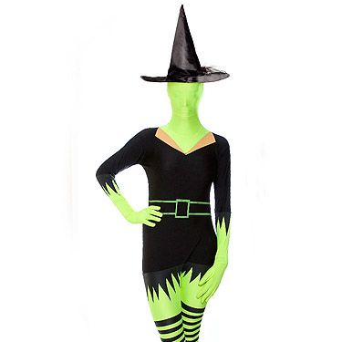 """<p>Morphsuits just got spooky! Channel the Wicked Witch of the West in this all-in-one. Best start perfecting your cackle now.<br /><br />Green witch morphsuit, £35.96, <a href=""""http://monsterstuff.co.uk/green-witch-morphsuit-p-701.html"""" target=""""_blank"""">Monster Stuff</a></p>"""