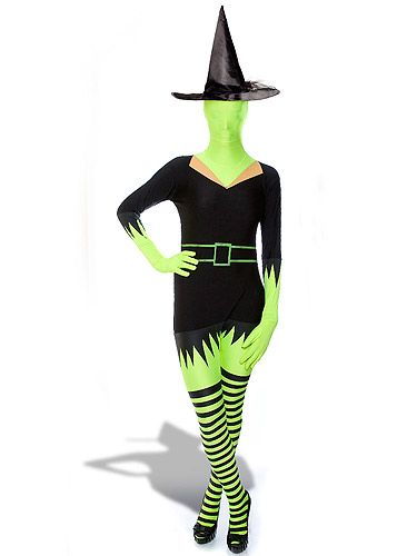 "<p>Morphsuits just got spooky! Channel the Wicked Witch of the West in this all-in-one. Best start perfecting your cackle now.<br /><br />Green witch morphsuit, £35.96, <a href=""http://monsterstuff.co.uk/green-witch-morphsuit-p-701.html"" target=""_blank"">Monster Stuff</a></p>"