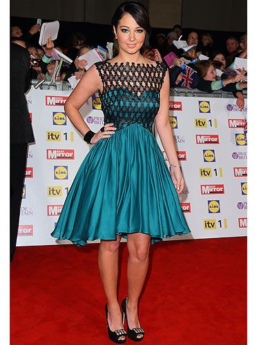 <p>Doesn't Cosmo's cover star look glam at the Pride of Britain Awards!? Going for a glam, yet sexy look, the X Factor judge oozed class and sophistication in her green dress. And we heard it bagged her Max from The Wanted - go Tulisa!</p>