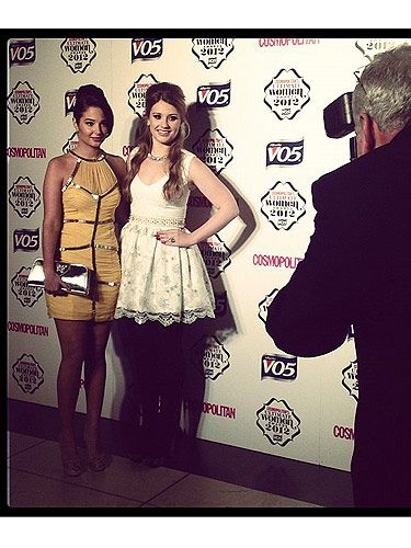 <p>Ella Henderson has worked the red carpet at the Skyfall premiere and the Pride of Britain Awards and now she's working our very own Cosmopolitan Ultimate Women of the Awards! The X Factor babe was there with her mentor Tulisa, who  was looking wonderful in her fab yellow dress, dontcha think?</p>