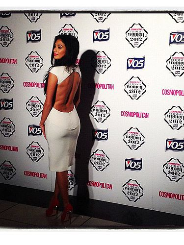 <p>Bringing sexy back, Nicole Scherzinger was looking white-hot at the Cosmopolitan Ultimate Women of the Year awards.</p>