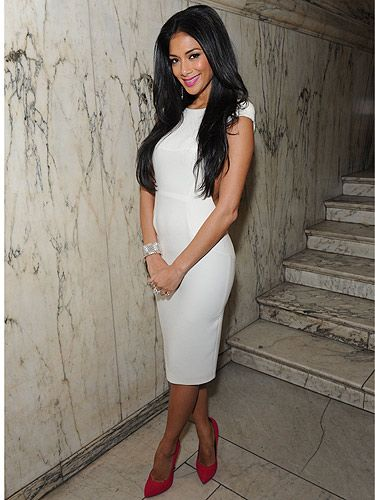 <p>We're loving Nicole Scherzinger's style at the moment, and this little white number for the Ultimate Women of the Year Awards, sponsored by VO5, was not a disappointment. Injecting some colour with her raunchy red and gold two-tone shoes, we just love Nicole's style!</p>