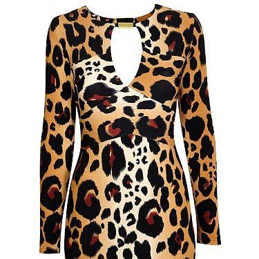 """<p>Leopard print dress, £40, <a title=""""http://www.dorothyperkins.com/webapp/wcs/stores/servlet/TopCategoriesDisplay?storeId=12552&catalogId=33053"""" href=""""http://www.dorothyperkins.com/webapp/wcs/stores/servlet/TopCategoriesDisplay?storeId=12552&catalogId=33053"""" target=""""_blank"""">Dorothy Perkins</a></p>"""