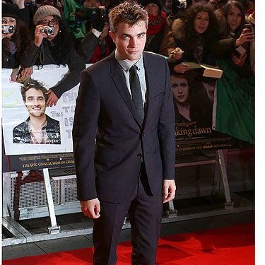 <p>There is no Twilight premiere without the man himself, Robert Pattinson! Claiming he never would have been a success without the saga (we doubt it Rob!) we can't wait to see RPattz on our screens as Edward Cullen again this week!</p>