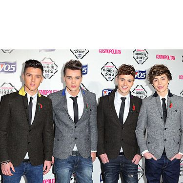 """<p>Union J's Jaymi Hensley came out as gay the weekend before the quarter finals of the X Factor. Cosmo loves his confidence and courage, and his bandmates' support: """"It inspired our performance and it will help out other people having a tough time and give them courage.""""</p>"""