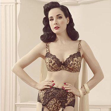 <p>More vintage-inspired gorgeousness from Von Follies by Dita Von Teese, available from Debenhams.</p>