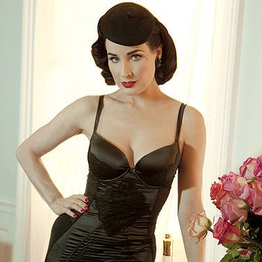 <p>Dita Von Teese in covers-up shocker!</p>
