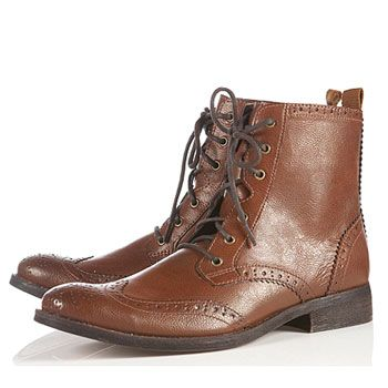 "<p>""Guys like shoes too! And boy boots are great for the winter and give me the masculine edge my girlfriend likes. A Reiss pair would be top of my list but Topman do some cheaper alternatives."" Justin, 25, Farnham</p>