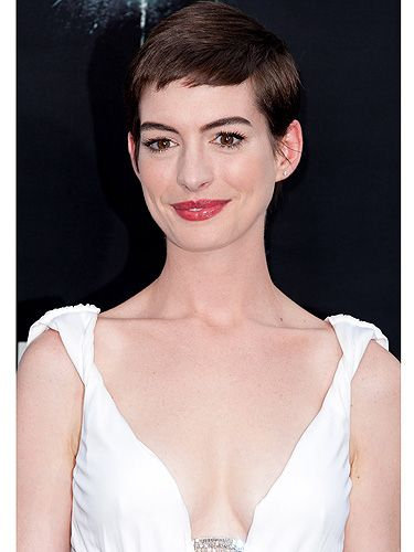 <p>We forget that Anne Hathaway has a pretty impressive set of boobs - but that's because she doesn't usually show them off. When she walked the red carpet at the world premiere of The Dark Knight Rises, she she dazzled in her floor length gown - and check out those breasts! Usually her outfit choices are demure and covered up, but for this occasion she wanted to show off what her mama gave her, as it's widely known that Anne Hathaway's boobs are in fact, real.</p>