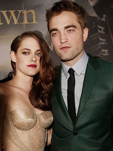 <p>Well people, it's the moment we've all been waiting for; The Twilight Saga: Breaking Dawn Part 2 LA premiere. For the occasion, Robert Pattinson wore a bottle green Gucci suit, and Kristen Stewart opted for a sheer gold Zuhair Murad dress.</p>