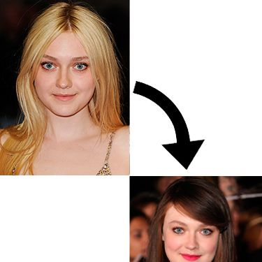 """<p>When Dakota Fanning walked the red carpet at The Twilight Saga: Breaking Dawn - Part 2 premiere in Los Angeles, all eyes were on her hair. Dakota has ditched her blonde locks in favour of a darker do. Perhaps this is Dakota's way of saying goodbye to her Twilight character, Jane. We love how glossy her brown barnet looks. Will sis Elle follow suit?</p><p><strong>MORE HAIRSTYLE IDEAS</strong></p><p><a href=""""http://www.cosmopolitan.co.uk/beauty-hair/news/styles/celebrity/cosmo-hairstyle-of-the-day"""" target=""""_self"""">SEE OUR CELEBRITY HAIRSTYLE OF THE DAY</a></p><p><a href=""""http://www.cosmopolitan.co.uk/beauty-hair/news/styles/celebrity/how-to-get-a-celebrity-hair-colour?click=main_sr#fbIndex1"""" target=""""_blank"""">HOW TO GET CELEBRITY HAIR COLOUR</a></p><p><a href=""""http://www.cosmopolitan.co.uk/beauty-hair/beauty-lab"""" target=""""_blank"""">LATEST BEAUTY REVIEWS</a></p><p> </p>"""
