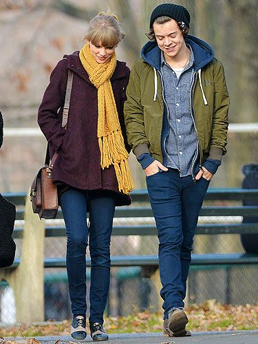 "<p>Taylor Swift was spotted out about about with her rumoured One Directioner boyfriend, Harry Styles. Taylor chose the perfect ensemble for a romantic day out in New York with her fella. Opting for a pair of skinny jeans, a burgundy coat and a mustard yellow scarf to stay warm. Good choice.</p> <p><a title=""http://www.cosmopolitan.co.uk/love-sex/relationships/taylor-swift-the-love-files"" href=""http://www.cosmopolitan.co.uk/love-sex/relationships/taylor-swift-the-love-files"" target=""_self"">CHECK OUT TAYLOR SWIFT'S LOVE FILES</a></p>"