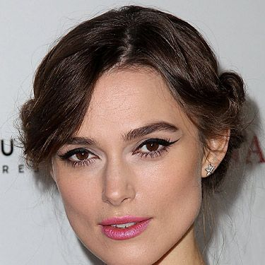 <p>Newly-engaged Keira Knightly can't stop thinking about wedding beauty styles on the red-carpet. We can't blame her - who wouldn't be excited to stand next to James Righton at the altar!</p>