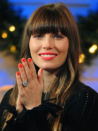 "<p>Newly-wed Jessica Biel's definitely getting some style tips from hubby Justin Timberlake. Forget the pale pinks and nudes, go for a super bright beauty look this winter.</p> <p>Match your lips and tips with MAC Cosmetics lipstick and nail lacquer in <a href=""http://www.maccosmetics.co.uk/products/spp/shaded.tmpl?CATEGORY_ID=CAT168&PRODUCT_ID=PROD310&SKU_ID=SKU3184"" target=""_blank"">Morange</a>. It's a lovely bright orange shade that will definitely stand out on that special night!</p>"