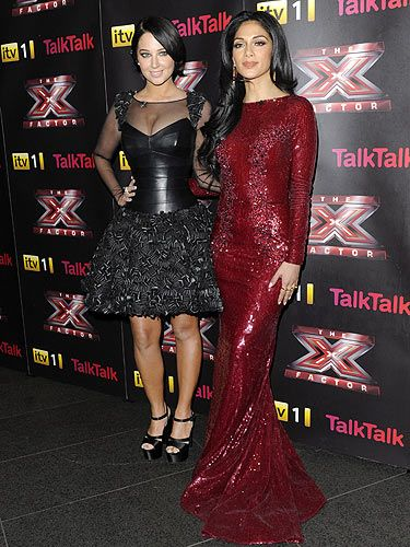<p>Saturday night on the X Factor wasn't just about the talent, but also about these amazing dress sense! It was a black vs red night as Tulisa went hell the leather in this LBD designed by Suzanne Neville. In matching black platform heels and her hair swept back in a bun, Tulisa definitely vamped up this classic look.<br /><br />Nicole however opted for this stunning Zuhair Murad haute Couture sequin gown. Clearly wanting to dazzle the crowd, Nicole gave Jessica rabbit a run for her money as she looked seriously sexy!<br /><br />Cosmo's overall winner: Nicole</p>