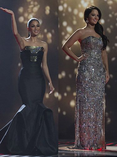 Tulisa and nicole dresses images