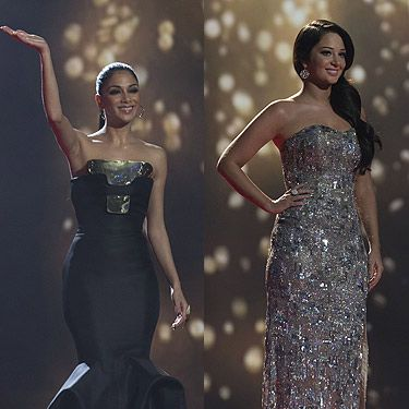 <p>It was the final X Factor show so it was only fair that Nicole Scherzinger and Tulisa treated us to their best dresses yet! Nicole decided to show off that amazing figure of hers in this Stephane Rollan Haute Couture fishtail gown. <br /><br />Tulisa also glammed up in this seriously sparkly gown by Hollie de Keyser which was perfect for the star studded event.<br /><br />With both girls looking simply stunning we really couldn't decide on who looked the best, so in the spirit of the final we declare them both winners!</p>