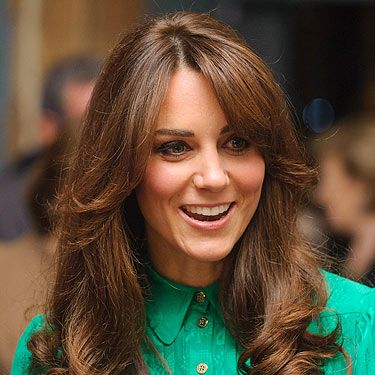 <p>Why not get a fresh new haircut for your big day? Kate Middleton brought the retro 70s back with her fringe hairstyle. The Duchess showed her blowout hairstyle could brave a windy day in London - convincing us it's the perfect beauty choice for your wedding day!</p>