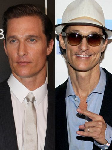 <p>What happened to the hunky Matthew McConaughey we all know and love from Magic Mike?! The actor has shed a shocking 143 pounds for his role as an AIDS victim in the upcoming film The Dallas Buyers Club - clearly he's intent on giving the part his all - but we desperately want to see him put the weight back on again ASAP.</p>