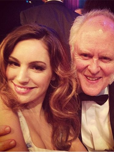"<p>Kelly Brook gets to go to all the best events, doesn't she? The gorgeous actor / model / burlesque dancer posted a snap of herself at the British omedy Awards 2012 last night, looking as gorgeous as ever alongside American actor John Lithgow!</p> <p>""At the BCA with the divine John Lithgow xx""</p> <p>We wonder if Kelly Brook's a fan of political comedy The Thick of It, which walked away with TWO awards last night?</p>"
