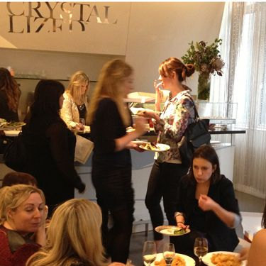 """<p>The superbly sparkly Cosmo Christmas party was hosted at the <a href=""""http://uk.swarovski-elements.com/eShop"""" target=""""_blank"""">Swarovski Crystallized</a> lounge, a Cosmo girl's dream come true!</p><p>Clusters of Cosmo ladies were spotted around the display cabinets getting inspiration for their Christmas wish lists.</p><p>We recommend that you feast your eyes on <a href=""""http://uk.swarovski-elements.com/eShop"""" target=""""_blank"""">this lot</a>! <br /><br />With crates of festive <a href=""""http://www.crabbiesgingerbeer.co.uk/"""" target=""""_blank"""">Crabbie's Alcoholic Ginger Beer</a>, The <a href=""""http://www.bacardi.com/uk/lda?url=%2fuk%2fProducts%2fBacardi-OakHeart"""" target=""""_blank"""">Bacardi Oakheart</a> team rustling up cocktails, plenty of bubbly and a stack of pizzas to soak up all the booze, it's fair to say that we were pretty merry.</p>"""