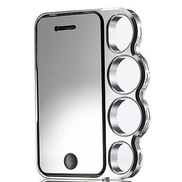 """<p>Well if it's good enough for Rihanna… Yep, that's right - RiRi has one of these aluminium knuckle duster iphone covers and she loves it. And not only is it the height of cool, it's practical for taking photos too.<br /><br />Knuckle duster iPhone 4/4s case, £49, <a title=""""http://www.knucklecase.com/products/knuckle-iphone-4-4s-case"""" href=""""http://www.knucklecase.com/products/knuckle-iphone-4-4s-case"""" target=""""_blank"""">Knucklecase</a></p>"""