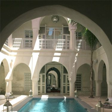 """<p>When builders chanced upon a bride-to-be's love story hidden in a secret antechamber of this recently restored 300-year-old palace, the romantic legend of AnaYela ('I am Yela') was born. Yela's fantastical tale – of city rooftops scaled in passion and kisses so intense they could make a carpet fly – is now etched in calligraphy on the five bedrooms' doors and walls. A cushion-covered den on the dizzying roof terrace offers intoxicating city views to help you reach your own magic-carpet high. Back at ground level, slink into the sensually warm indoor pool or let AnaYela's personal shopper (how VIP!) show you how to haggle for treasures, Marrakesh-style.<br /> <br />Rooms from €290 per night&#x3B; <a href=""""anayela.com"""" target=""""_blank"""">anayela.com</a>. Visit <a href=""""http://www.easyjet.com/en"""" target=""""_blank"""">easyjet.com</a> for flight details.</p>"""