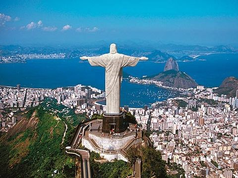 "<p>Standing high above Rio, arms outstretched, this enormous statue has been one of the world's most famous landmarks since it was built in 1931. It took nine years to complete and at 38 metres tall, it's one of the most impressive manmade structures ever built. Facebook friends will be left drooling when you post pictures of yourself on the viewing platform at the top of Corcovado Mountain, with a backdrop of Rio de Janeiro and sparkling sea below.<br /><br /><a href=""http://www.dialaflight.com"" target=""_blank"">DialAFlight</a> offers a nine-night trip to Rio and Buzios in Brazil from £1,569pp incl. flights.</p>"