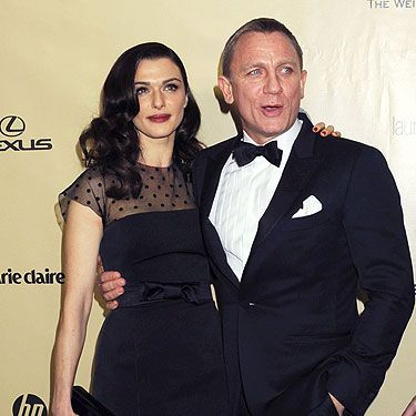 <p>Who cares about winning an award? Daniel Craig decided the lack of nominations for Skyfall wouldn't stop him from having a blast at the Golden Globes. We're loving the tux as well Daniel, very Bond. We're a little bit jel of wifey Rachel Weisz.</p>