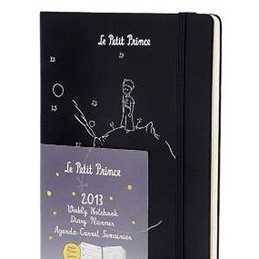 """<p>Le Petit Prince 12 months weekly notebook diary, £14.99, <a href=""""http://store.moleskine.com/en/home-slider/le-petit-prince-12-months-weekly-notebook-diary.html#505=117&507=32&509=42"""" target=""""_blank"""">Moleskine</a></p><p> </p>"""