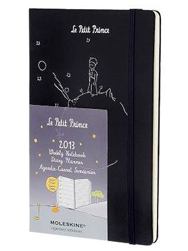 """<p>Le Petit Prince 12 months weekly notebook diary, £14.99, <a href=""""http://store.moleskine.com/en/home-slider/le-petit-prince-12-months-weekly-notebook-diary.html#505=117&507=32&509=42"""" target=""""_blank"""">Moleskine</a></p> <p> </p>"""