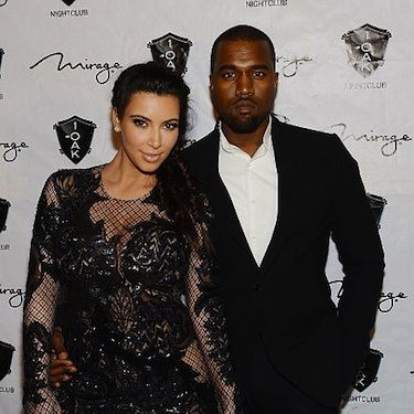 <p>Following the arrival of the couple's daughter, North West, Kanye popped the question to Kim Kardashian as a 'push present'. To seal the deal there was of course a large ring involved that, according to The Sun, is a rare black and tiger-strip diamond! Of course such a gem came complete with a £500,000 price tag sounds fitting for this celebrity couple though. Congrats guys!</p>
