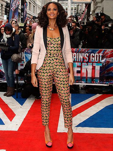 <p>Another day, another Britain's Got Talent audition day. Alesha Dixon looked super cool and she even brightened up the grey weather in London by wearing a hot pink and orange jumpsuit teamed with matching high heels. Does she ever get it wrong?</p>