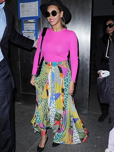 <p>Hurrah - Beyoncé is out and looking fierce. There's a reason why People magazine named Beyoncé the most beautiful woman in the world. We definitely wouldn't cry if we woke up looking like her... especially if our wardrobe was as stylish as hers</p>