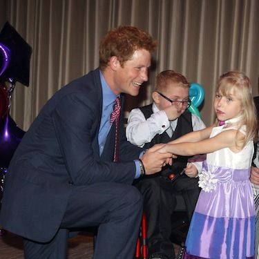 <p>Harry's putting his partying ways behind him as he shows off his softer side at the WellChild awards. Suited and booted in his shirt and tie, Harry seems to have captured our hearts all over again!</p>