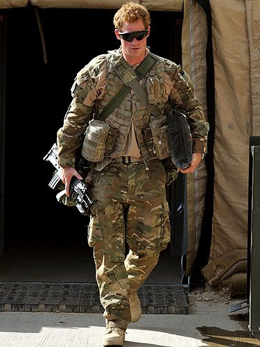"""<p>While on duty as an Apache helicopter pilot, the man known as Captain Wales - or Prince Harry as we like to call him - has just finished a stint in Afghanistan -  after five months on the job. We think he looks pretty hot in camouflage and sunglasses as he left the country on an aircraft, the prince was taken to an undisclosed location for a 24-hour 'decompression' period alongside other troops.</p> <p><a title=""""http://www.cosmopolitan.co.uk/celebs/celebrity-gossip/rss/prince-harry-thrilled-to-be-an-uncle-kate-middleton-single"""" href=""""http://www.cosmopolitan.co.uk/celebs/celebrity-gossip/rss/prince-harry-thrilled-to-be-an-uncle-kate-middleton-single"""" target=""""_self"""">FIND OUT WHAT HARRY HAD TO SAY ABOUT HIS TIME IN AFGHANISTAN </a><br /><br /></p>"""