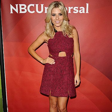 """<p>Mollie King attended the 2013 NBC TCA Winter Press Tour at The Langham Huntington Hotel in  California. The blonde babe looked gorgeous in her Three Floors A-line Peep dress teamed with open-toed sandals. Doesn't she look super cute? Buy Mollie's dress on <a title=""""http://threefloorfashion.com/index.php?page=shop.product_details&flypage=flypage_6A.tpl&product_id=887&category_id=3&option=com_virtuemart&Itemid=4"""" href=""""http://threefloorfashion.com/index.php?page=shop.product_details&flypage=flypage_6A.tpl&product_id=887&category_id=3&option=com_virtuemart&Itemid=4"""" target=""""_blank"""">ThreeFloorFashion.com</a></p>"""