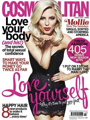 "<p>This fab new issue of Cosmopolitan is full of everything you need! We've got spot on relationship advice, fashion buys to make your wardrobe go wow and this season's top beauty trends. Plus, we've got sexy Saturday's member Mollie King letting us in on her heartbreak secrets. Get your hands on a copy for just £2* now!<br /><br /><a title=""http://www.cosmopolitan.co.uk/celebs/entertainment/watch-behind-the-scenes-video-of-mollie-king-on-her-cosmopolitan-cover-shoot-4688"" href=""http://www.cosmopolitan.co.uk/celebs/entertainment/watch-behind-the-scenes-video-of-mollie-king-on-her-cosmopolitan-cover-shoot-4688"" target=""_blank"">GO BEHIND THE SCENES OF MOLLIE'S COVER SHOOT</a></p> <p>*£2.50 in some areas</p>"