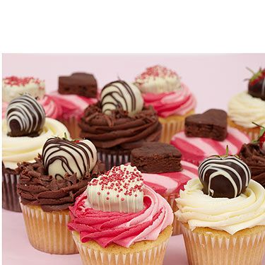 """<p>You can always rely on the lovely people at Lola's to supply us with scrumptious treats for any occasion! With a selection of chocolate and vanilla goodies, this will be the ideal gift for Valentine's Day.<br /><br />Cupcakes, £3, <a title=""""http://www.lolas-kitchen.co.uk/"""" href=""""http://www.lolas-kitchen.co.uk/"""" target=""""_blank"""">Lola's Kitchen</a><br /><br /></p>"""