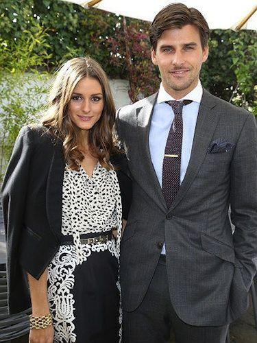 """<p class=""""p1""""><strong>How they met</strong>: Olivia Palermo and her hunky German model beau, Johannes Huebl first met in 2008 when they were introduced to each other by a mutual friend.</p> <p class=""""p1""""><strong>Why we love them together</strong>: Olivia couldn't have a better fashion accessory than this sexy man on her arm! We're well jel.</p>"""